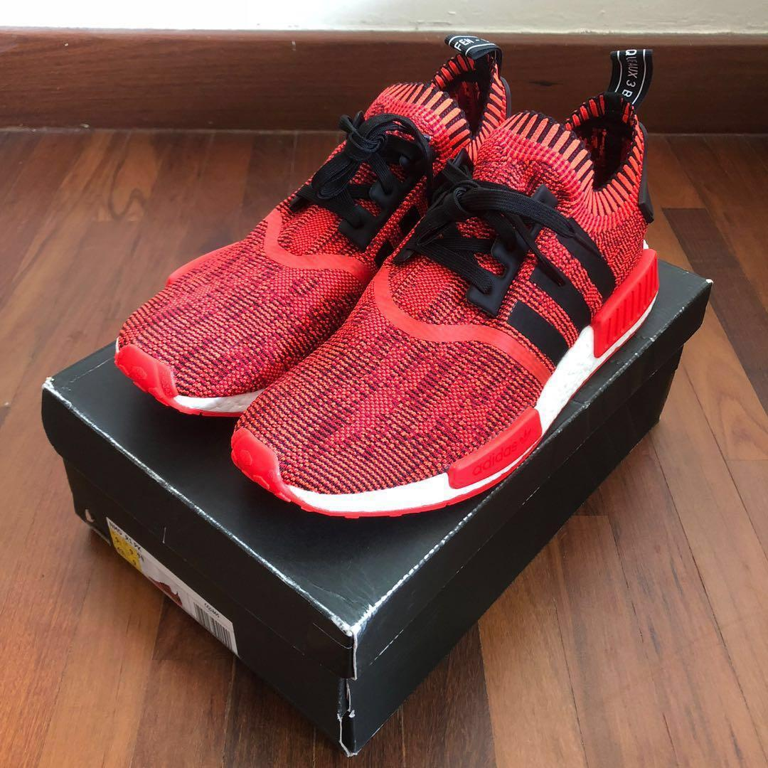 Details about adidas NMD R1 AI Camo Red Apple 2.0 Sz 11.5 CQ1865 Brand New