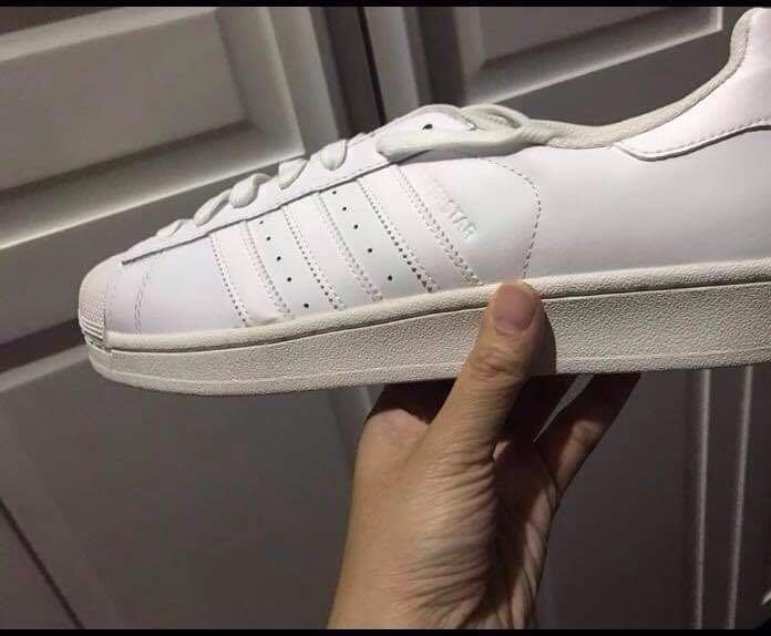 quality design 0ed4e 1db33 Adidas Superstar foundation (White) on Carousell
