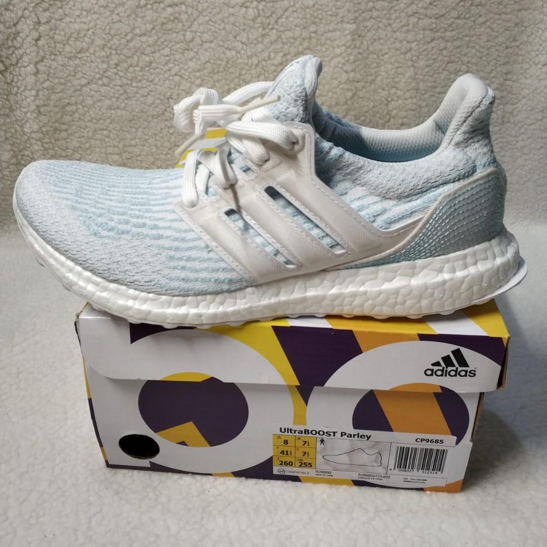 Adidas Ultraboost 3.0 x Parley Ice Blue