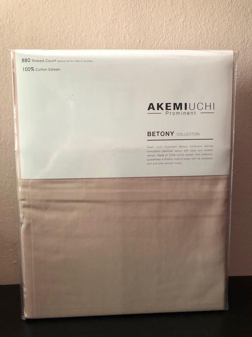 AKEMIUCHI Queen Fitted Bedsheet