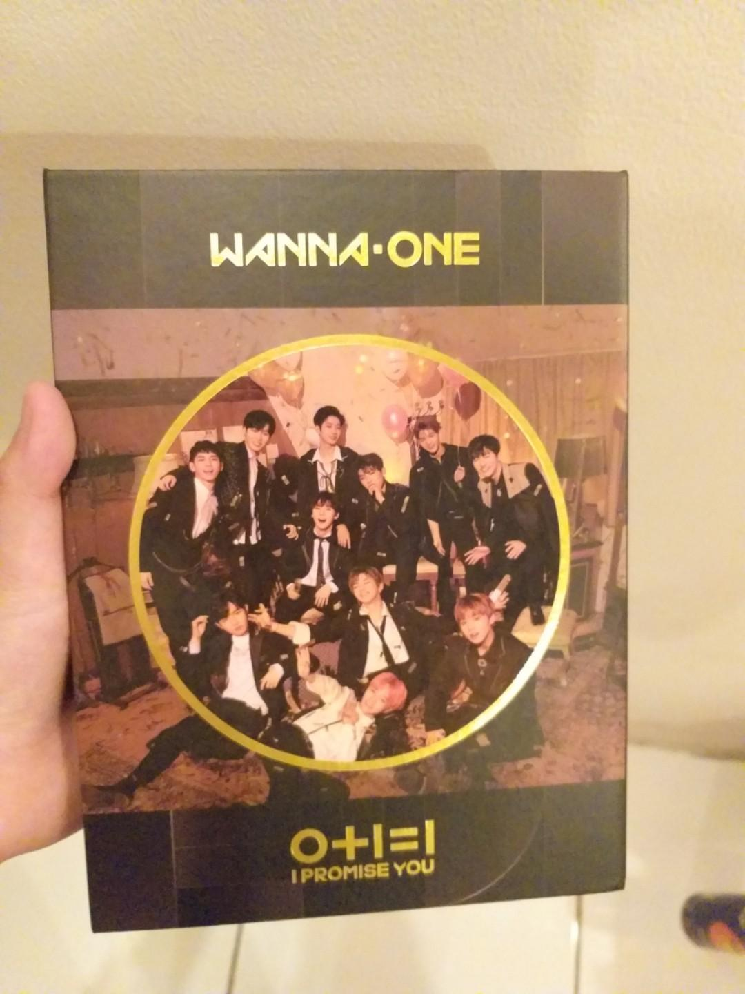 Album K-Pop WANNA ONE I Promise You, Nothing Without You, ASTRO All Light