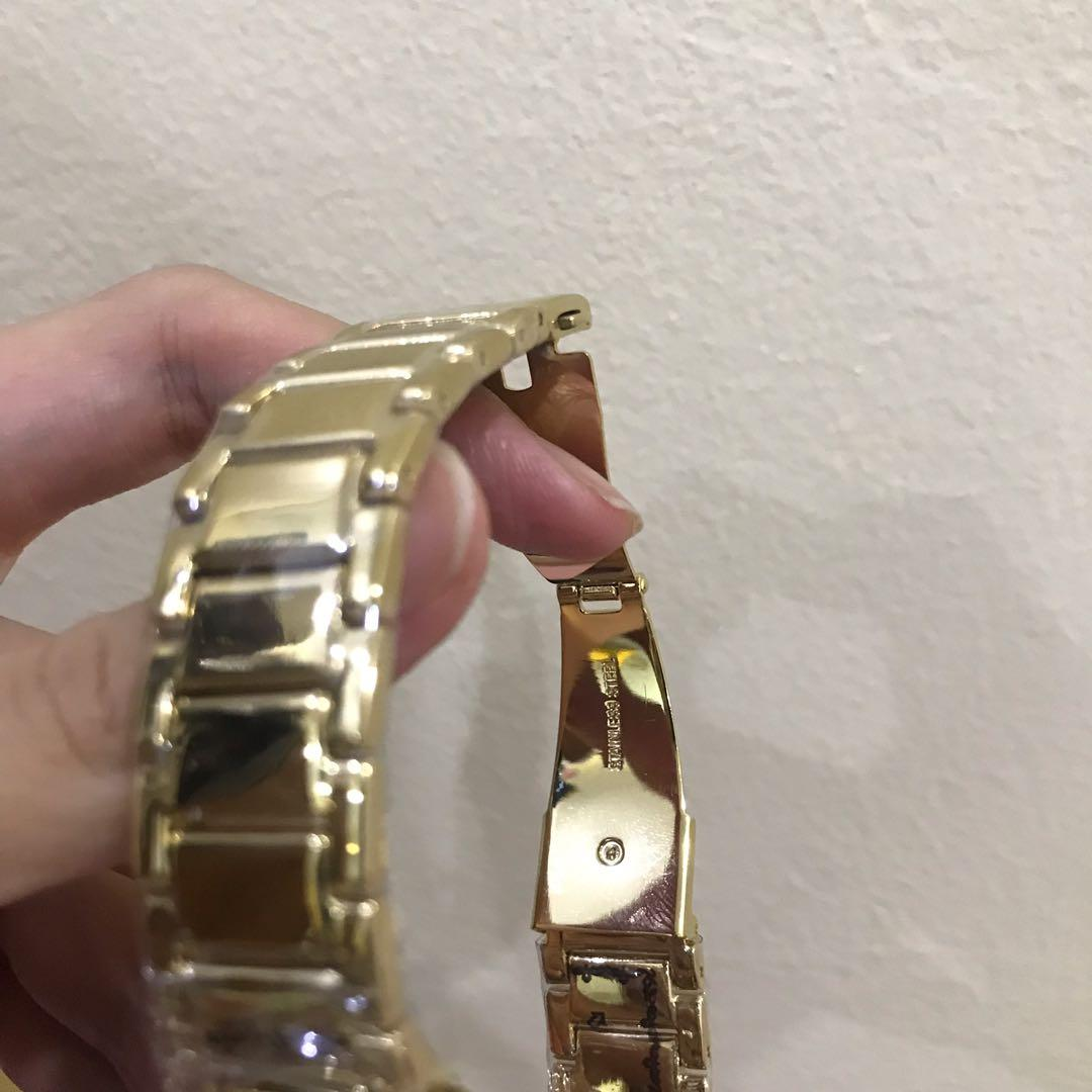 Authentic MK Gold Watch! Real capture photos!