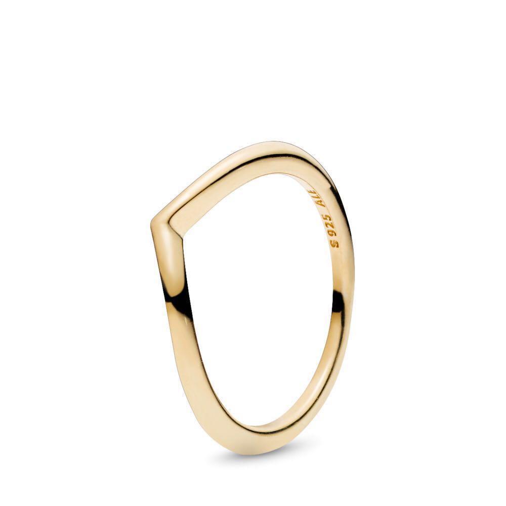 Authentic Pandora Shine Shining Wish Ring