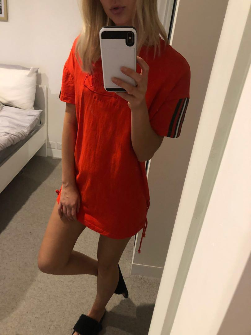 Baby girl T-shirt dress