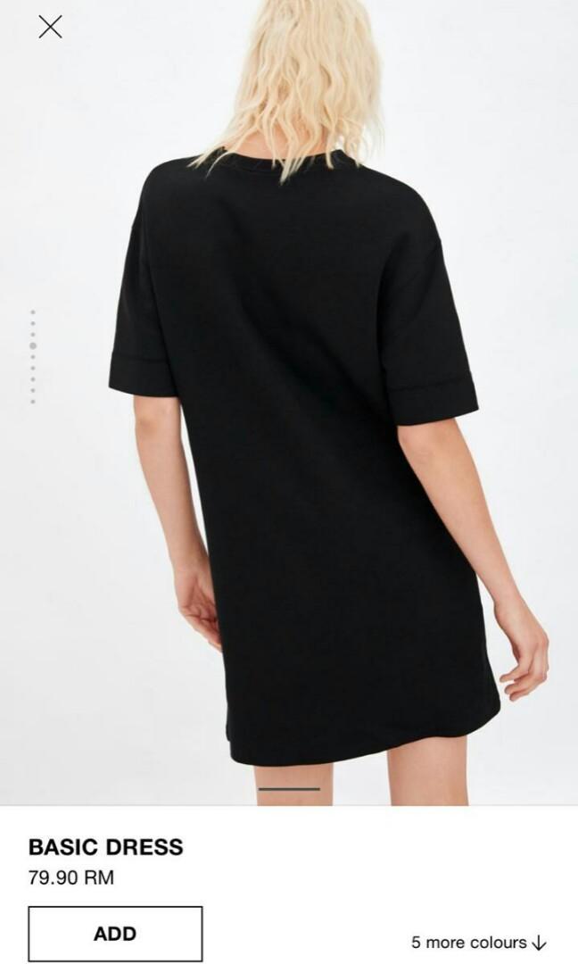 #BAPAU basic dress zara woman original