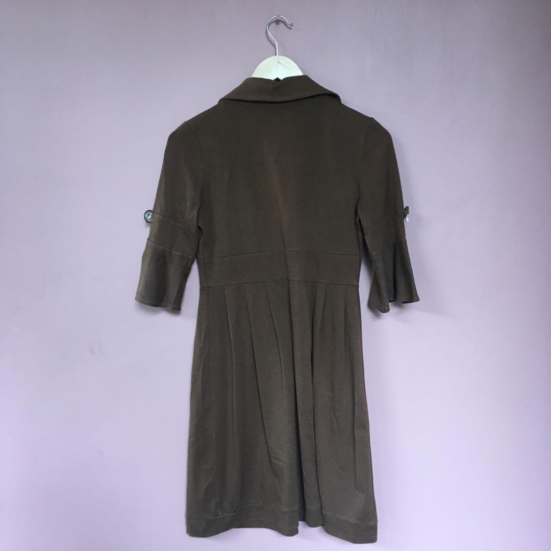 #BAPAU BROWN DRESS