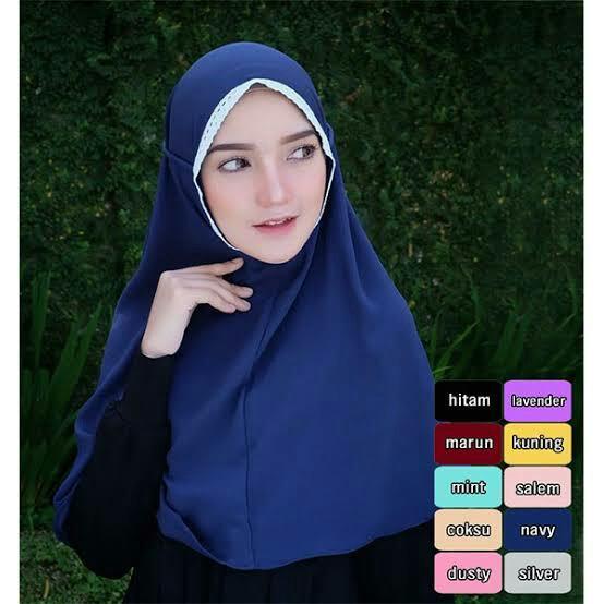 Bapau Hijab Bergo Rubiah Tali Fesyen Wanita Muslim Fashion Lainnya Di Carousell