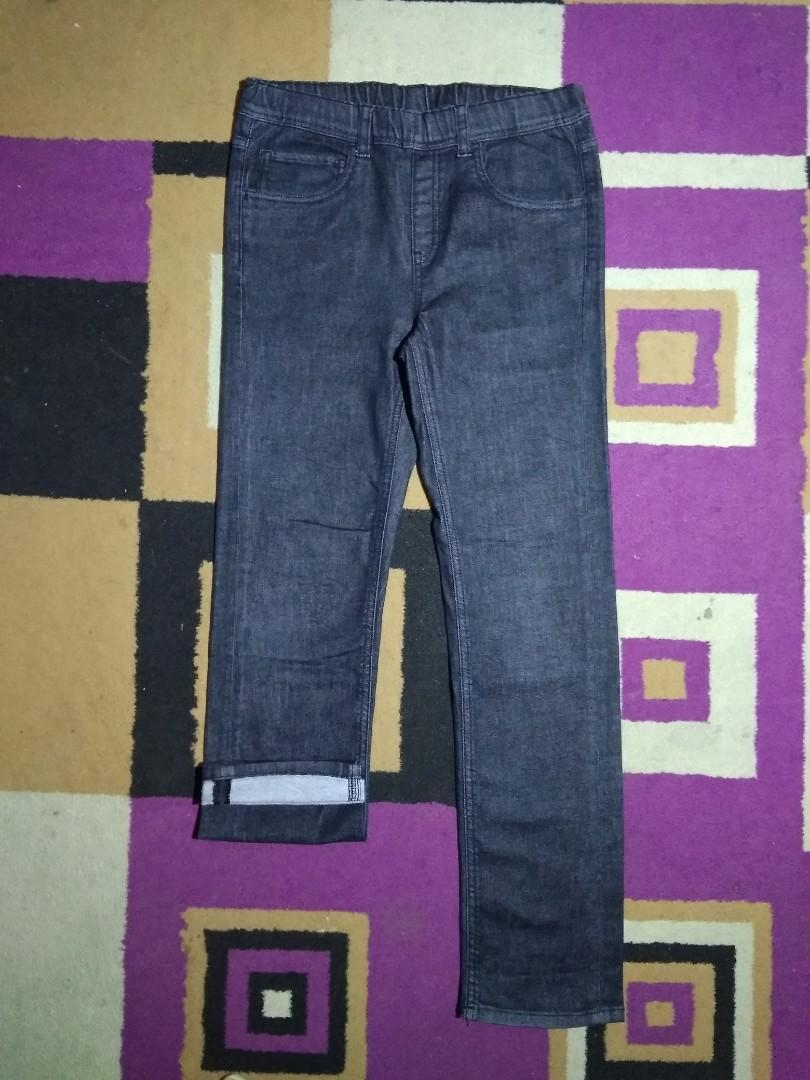 #BAPAU Jeans UNIQLO *ORIGINAL Hitam