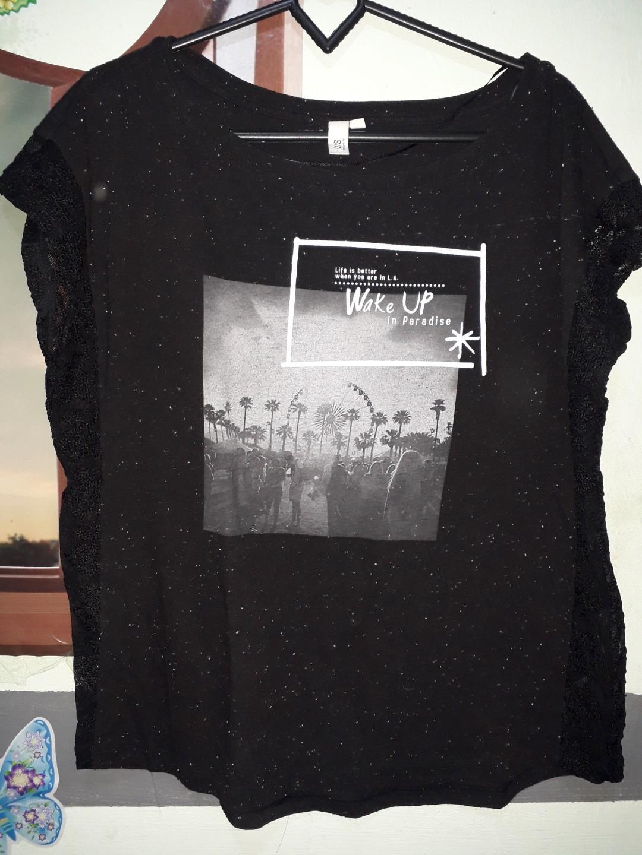 #BAPAU Kaos hitam
