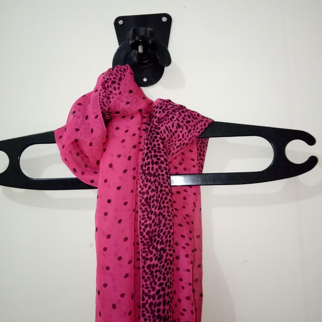 #BAPAU Pink Scarf