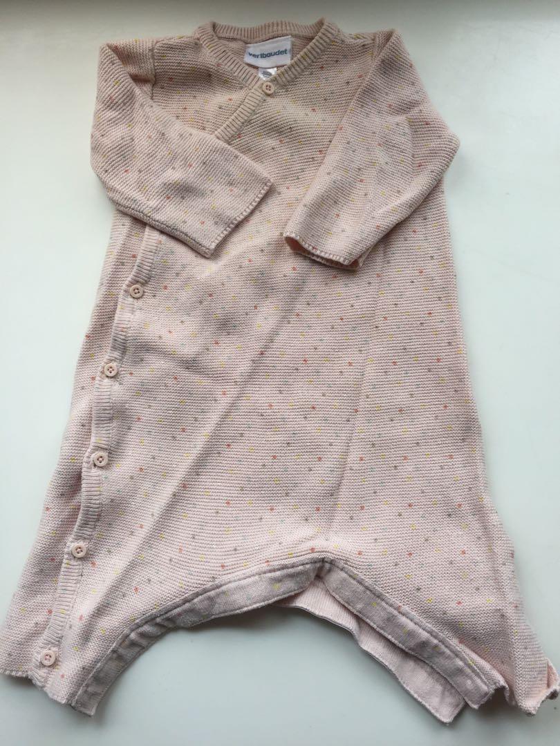 Beautiful knitted pyjama French brand