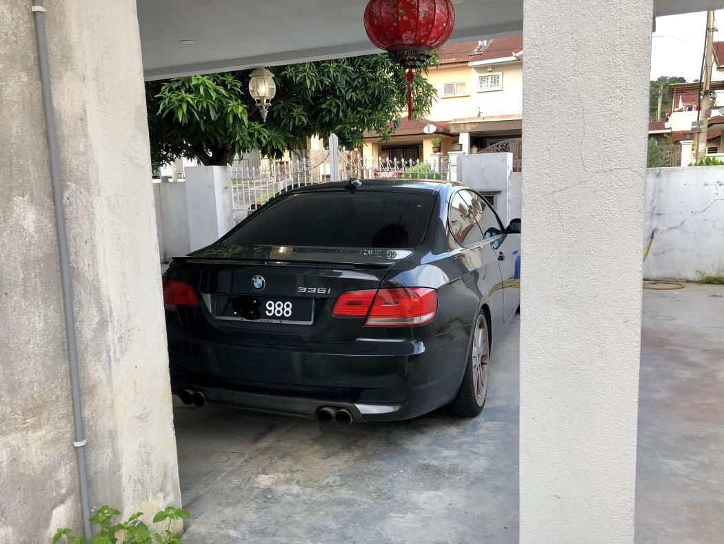 Bmw e92 335i 335ci  twin turbo