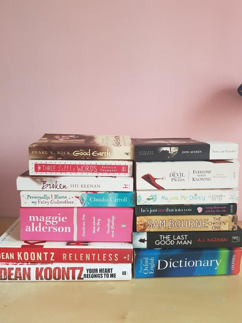Books Clearance sale $5 for 14 books (self collect)