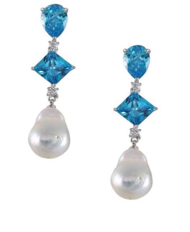 Bowerhause fresh water pearl drop pearl rings