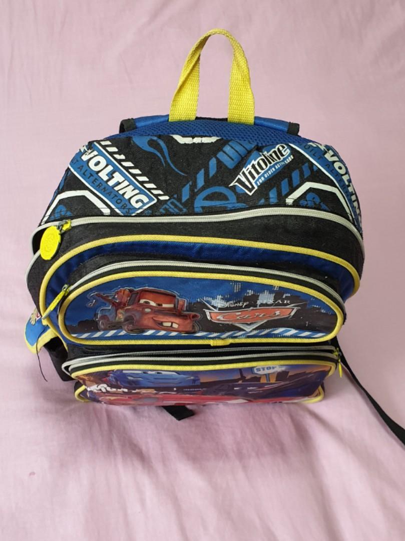 BOY SCHOOL BAG CARS