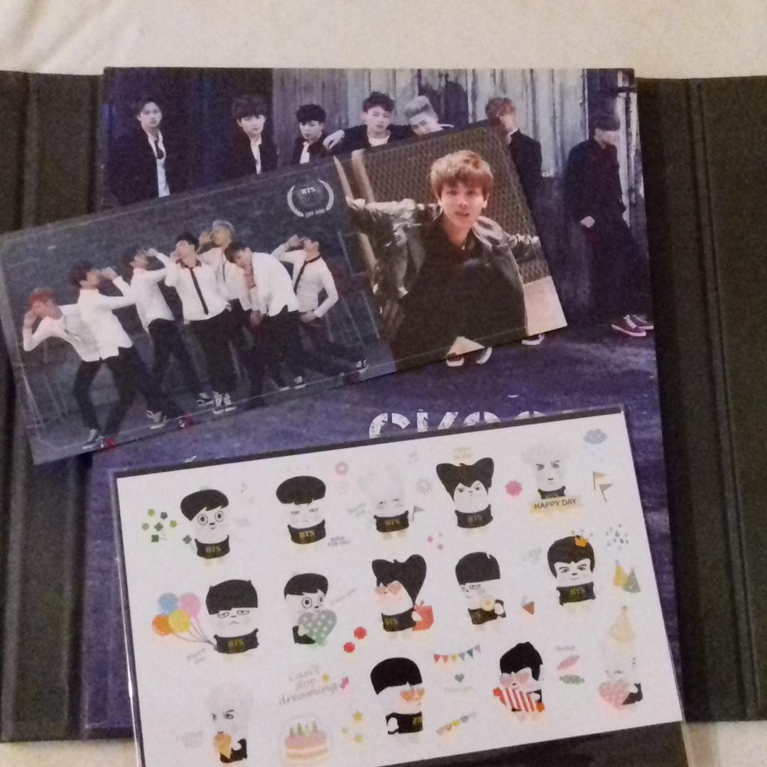 BTS Skool Luv Affair (With Jin Photocard)