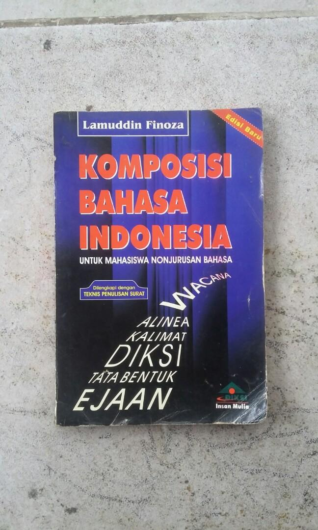 Buku Komposisi Bahasa Indonesia #Bapau