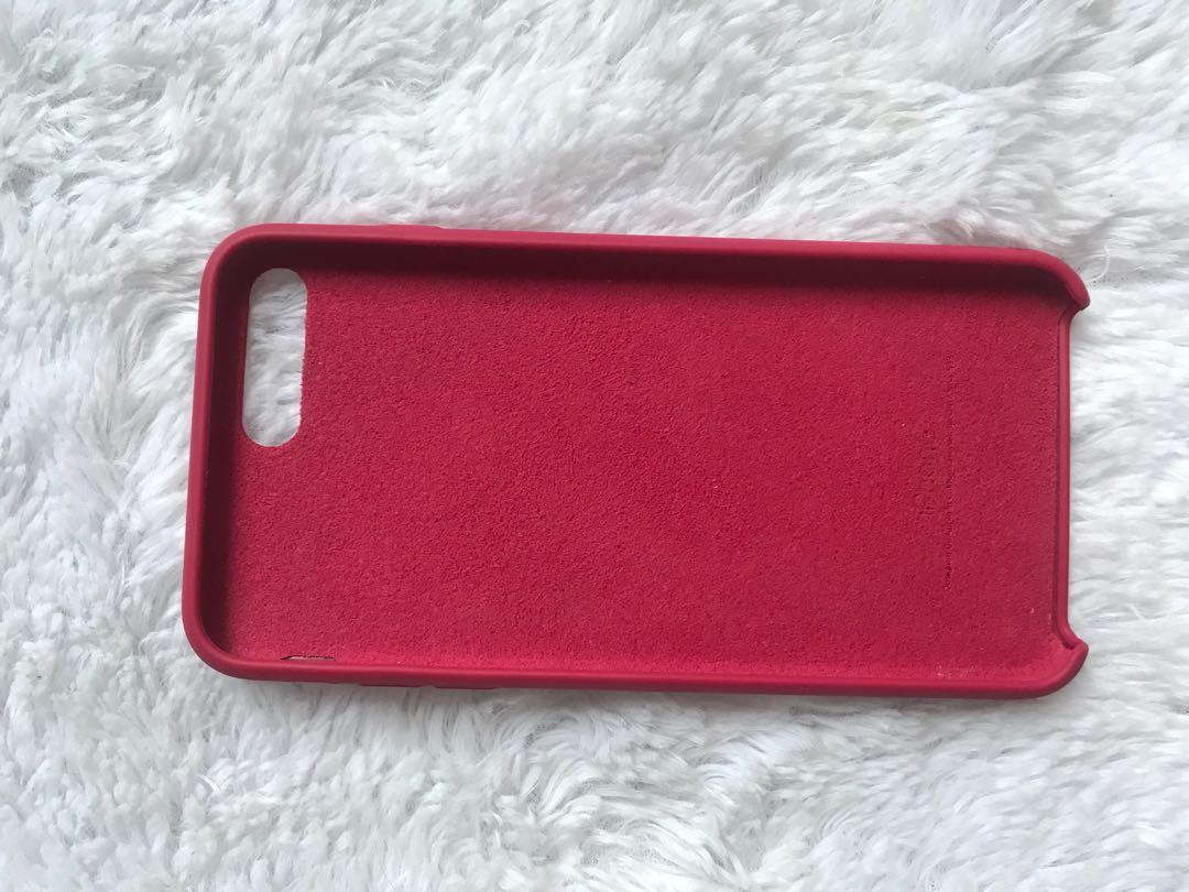Case iphone 7 plus red