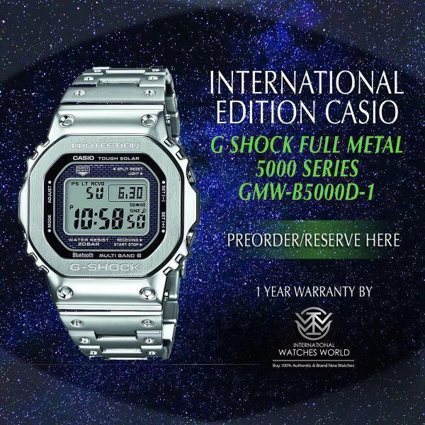 buy popular be0e4 f7138 CASIO INTERNATIONAL EDITION G SHOCK 5000 SERIES FULL METAL ...