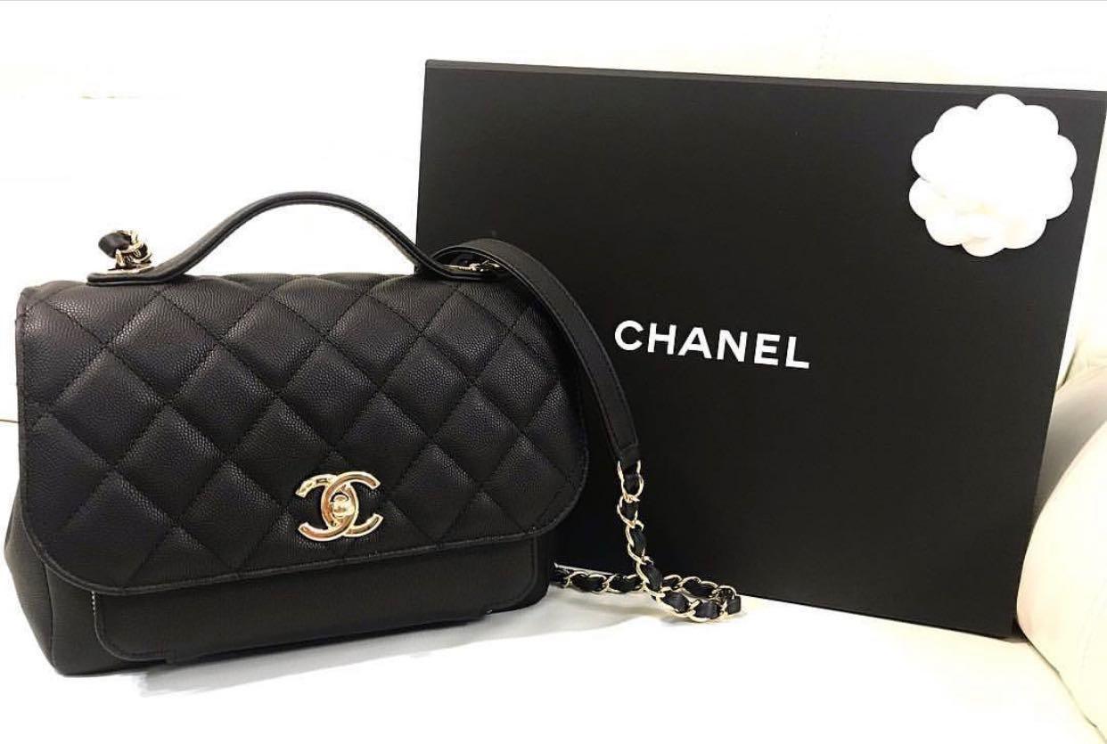 8cb7e25c060b5e Chanel Business Affinity Flap Bag Medium, Luxury, Bags & Wallets, Handbags  on Carousell