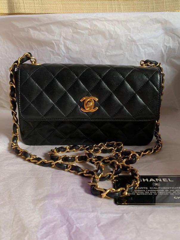 db99527819e9 Chanel classic mini crossbody flap bag, Luxury, Bags & Wallets ...