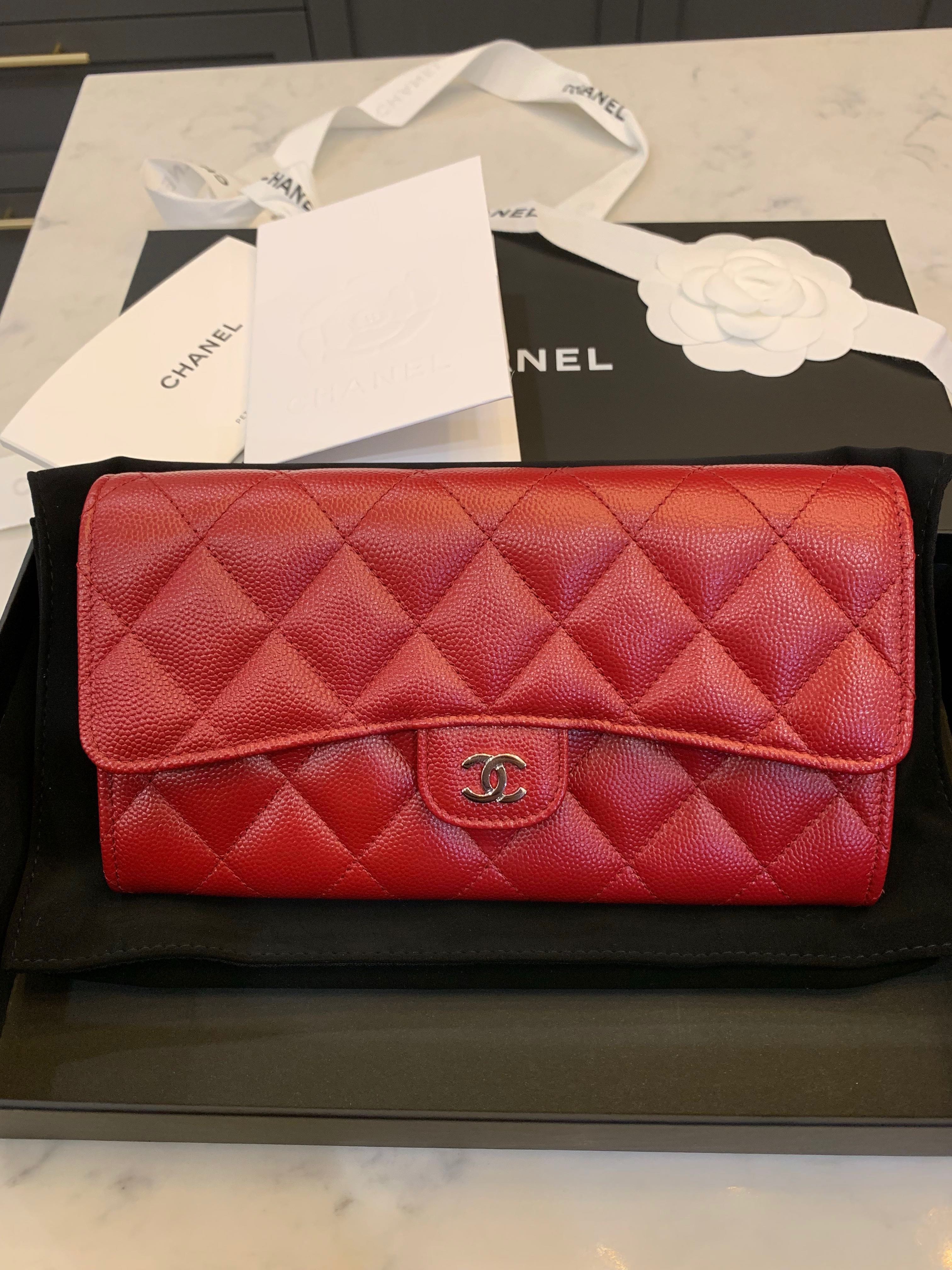 378e82e9a42d Chanel wallet (Brand new!), Luxury, Bags & Wallets, Wallets on Carousell