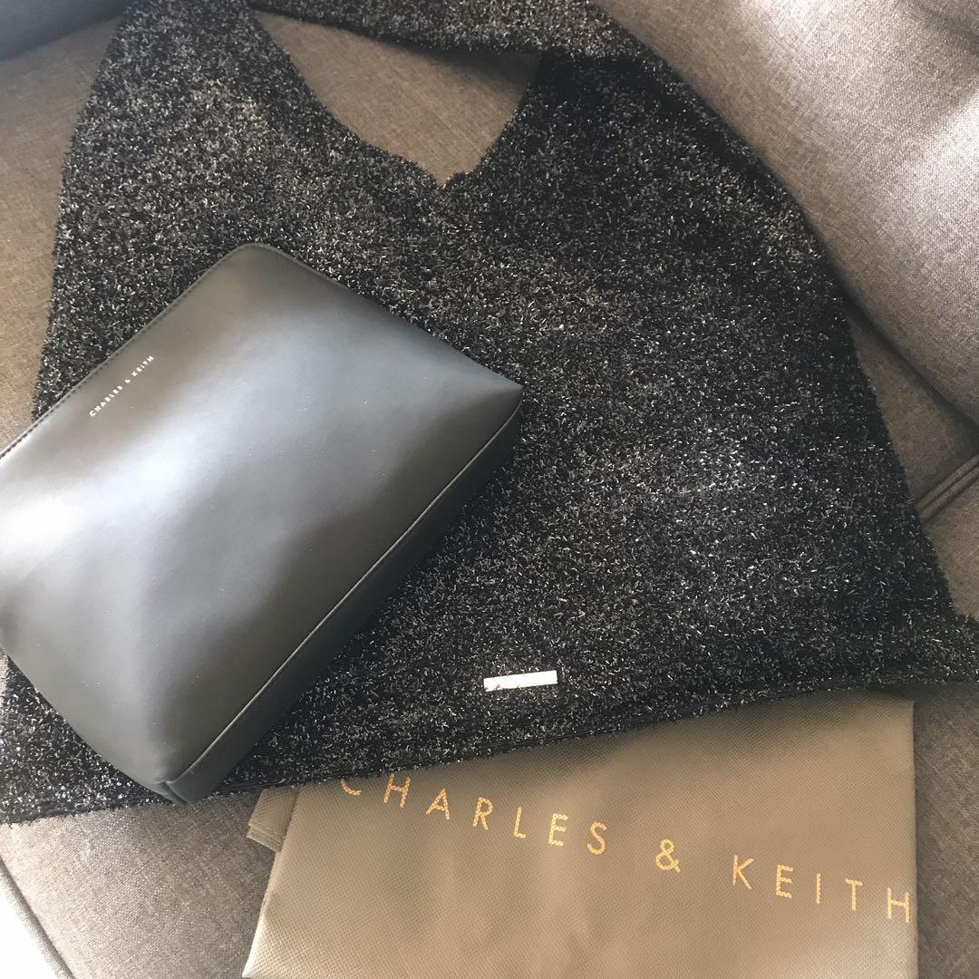 Charles and Keith tote bag