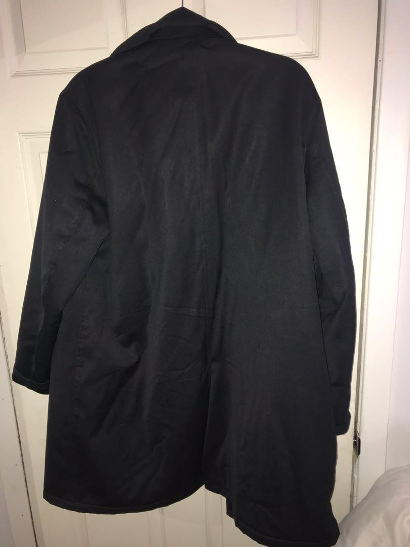 Club Monaco black outercoat size Small fits a Medium