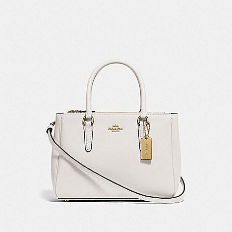Coach Handbag Surrey Carryall White