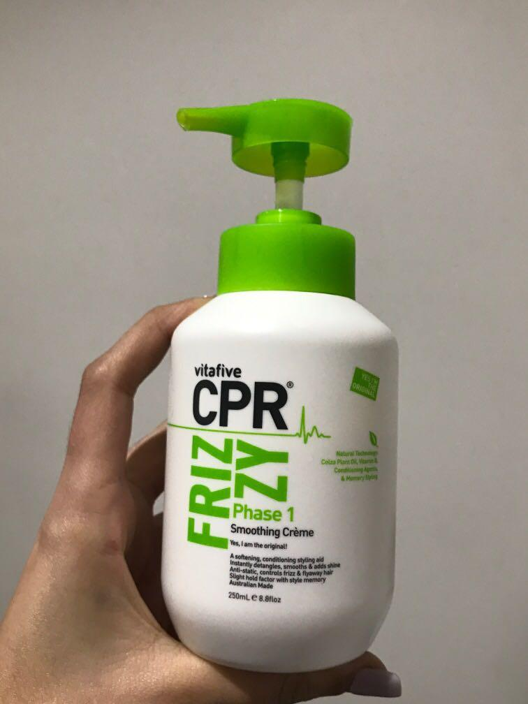 CPR - Frizzy smoothing creme