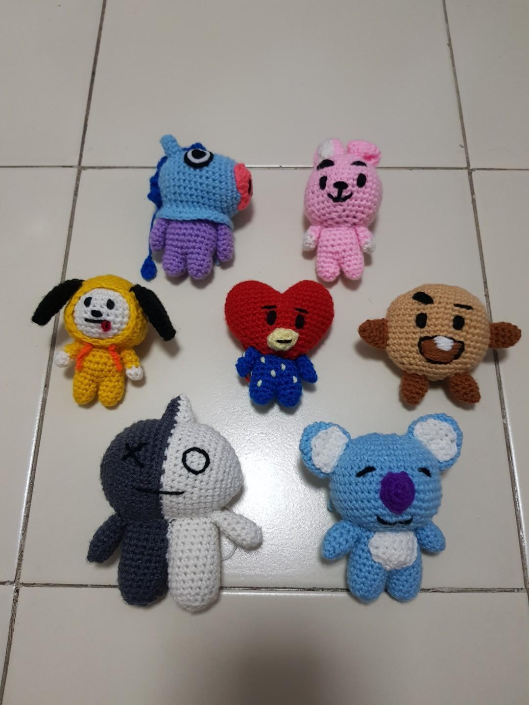 BT21 Tata Plush ♥ Crochet Pattern | Manualidades, Amigurumi ... | 1440x1080