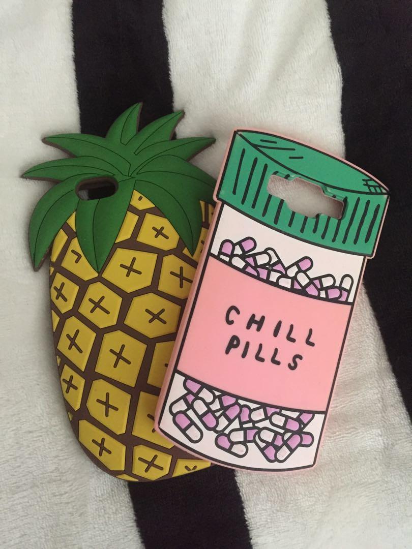 [ PENDING ] cute silicon phone case <3