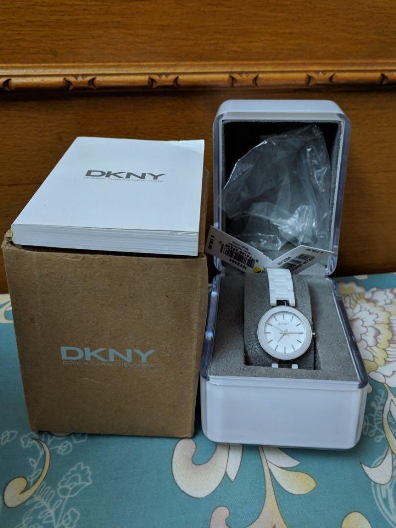 DKNY ceramic women's watch