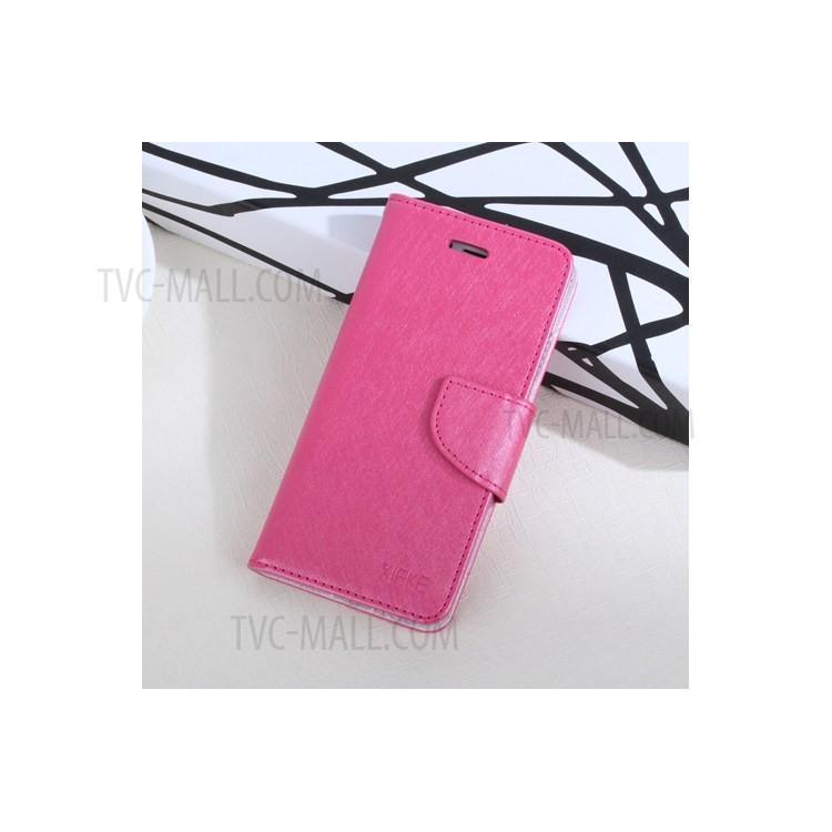 Fashion magnetic flip case anti scratch card slot cover