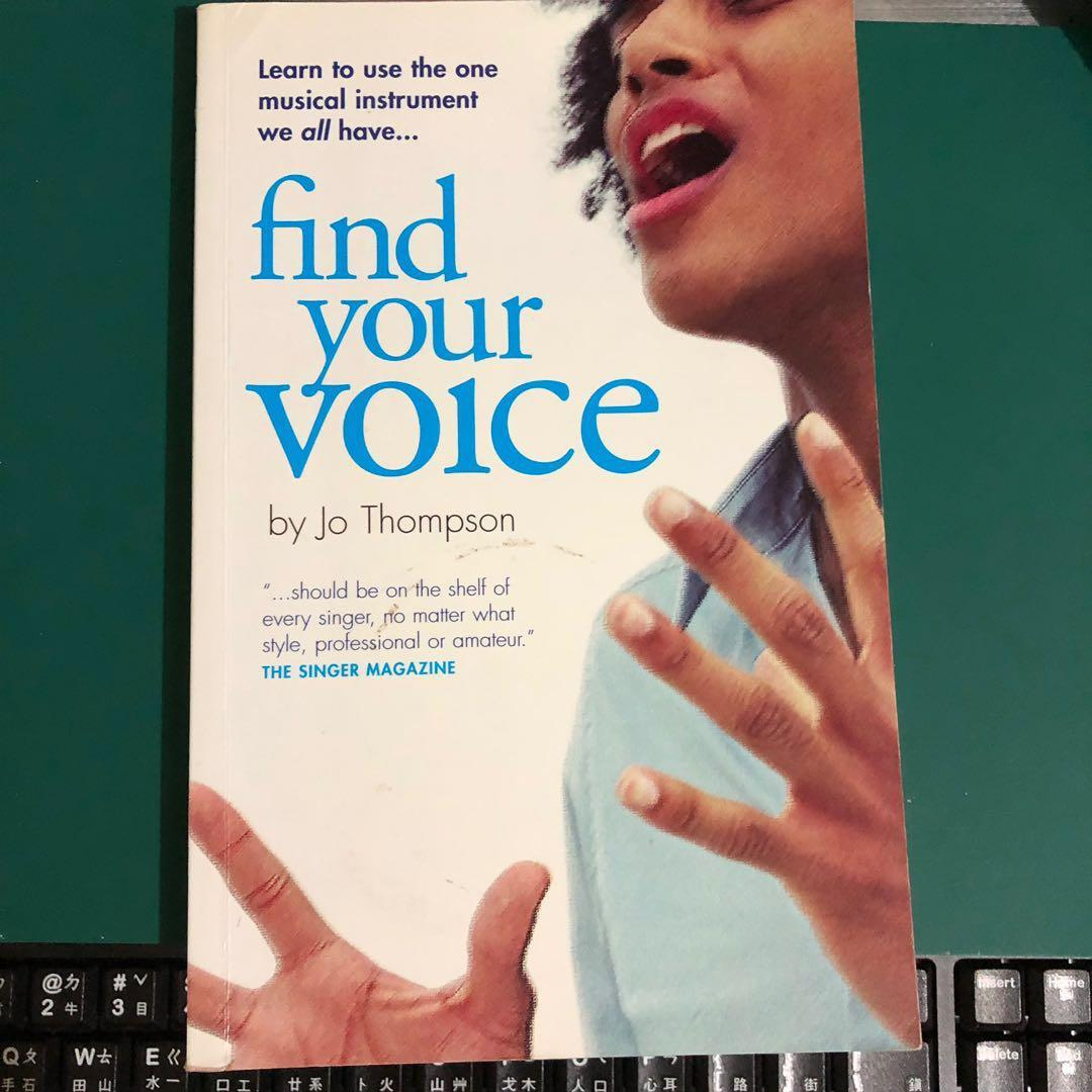 Find your voice 唱歌用書