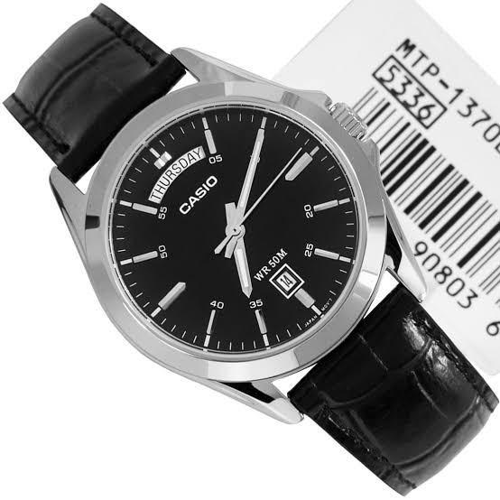 [Free Ongkir] Jam Tangan Casio MTP-1370l-1A Garansi masih 1 Tahun