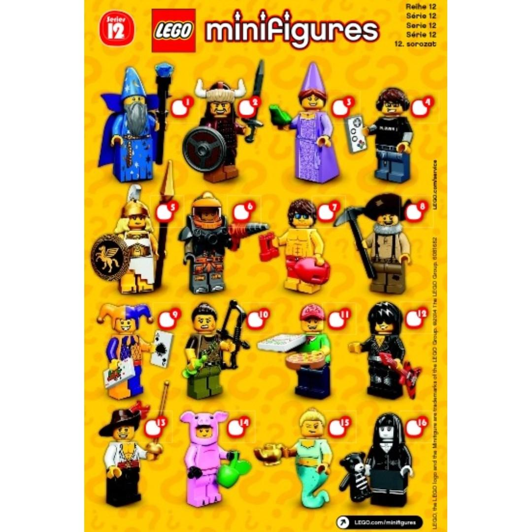(Free Postage!) 71007 Lego Piggy Guy Collectible Minifigures CMF Series 12 (Brand New Sealed)