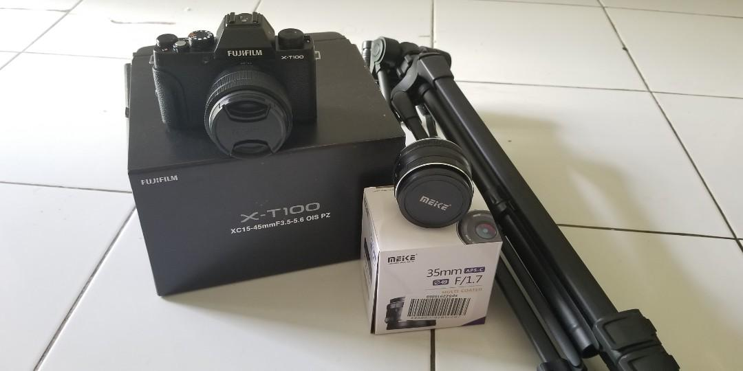 Fuji film x-t100