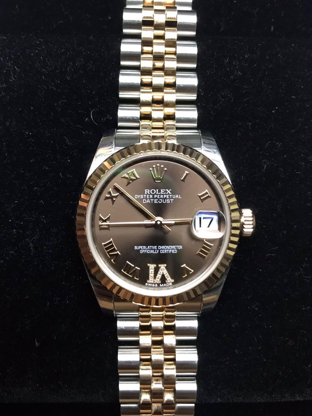 Rolex 178271 Everose Steel Datejust Mid Size 31mm Oyster Perpetual