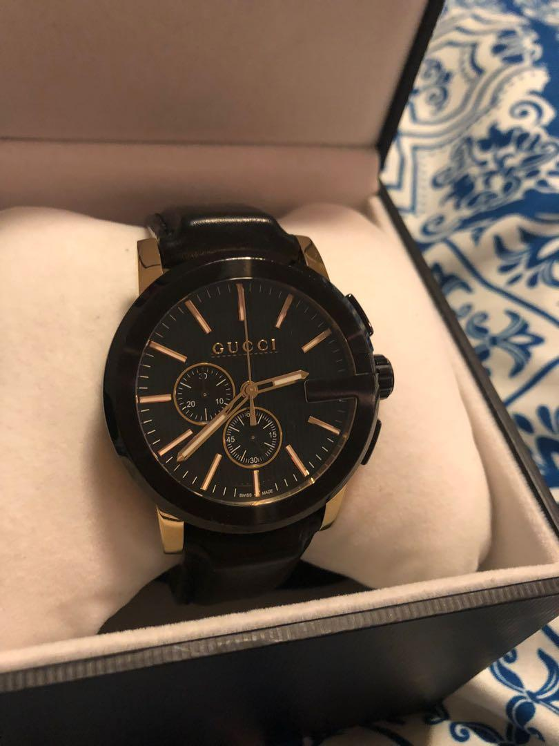 Genuine Gucci G-Chrono Watch. Original price $2,410.00