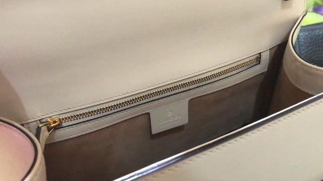 gucci sylvie top handle bag authentic / tas gucci original