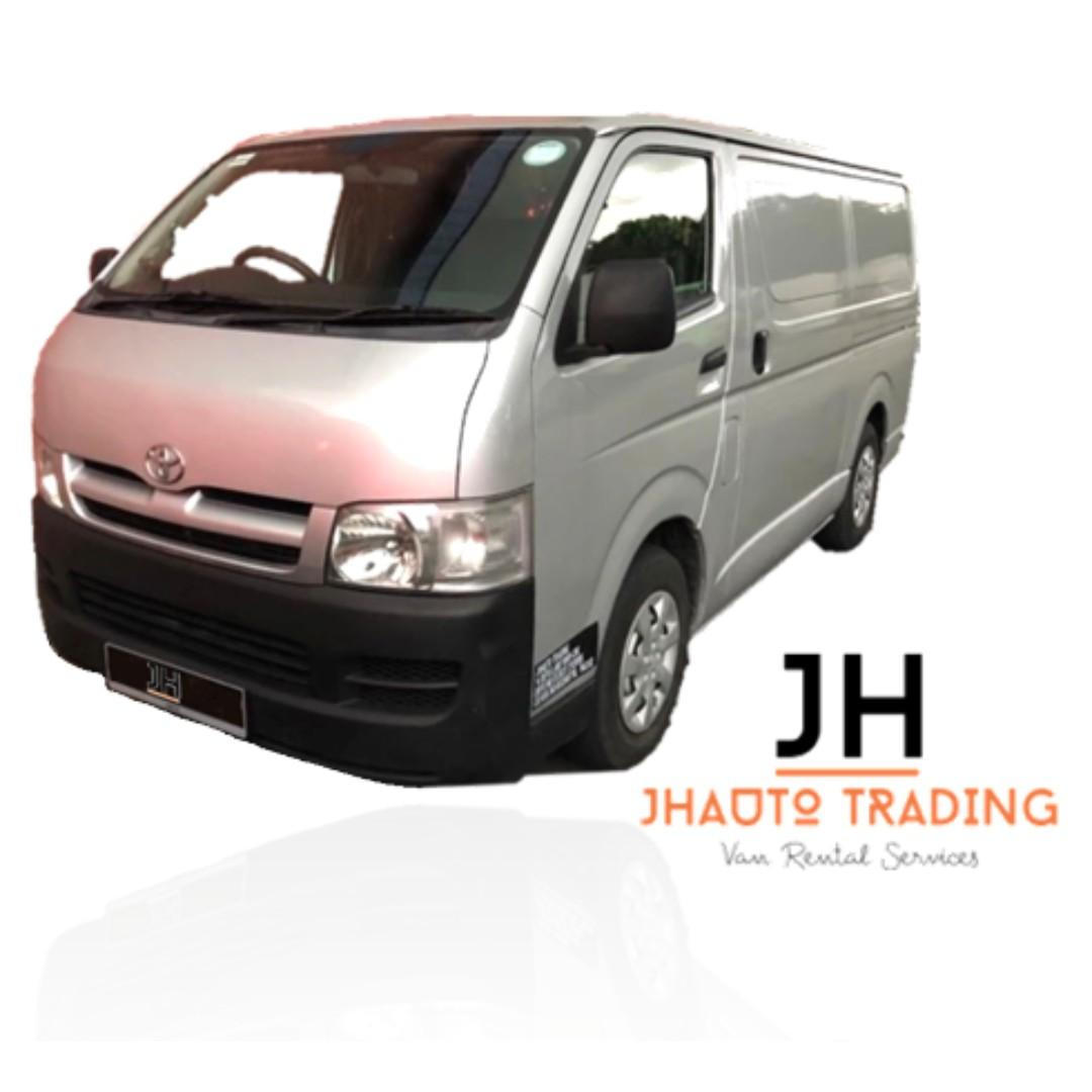 Hari Raya Van Rental *LAST UNIT*
