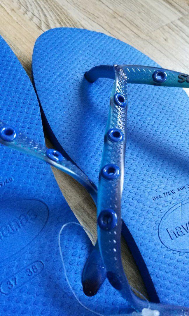 Havaianas slipper (blue) - GENUINE from Brazil