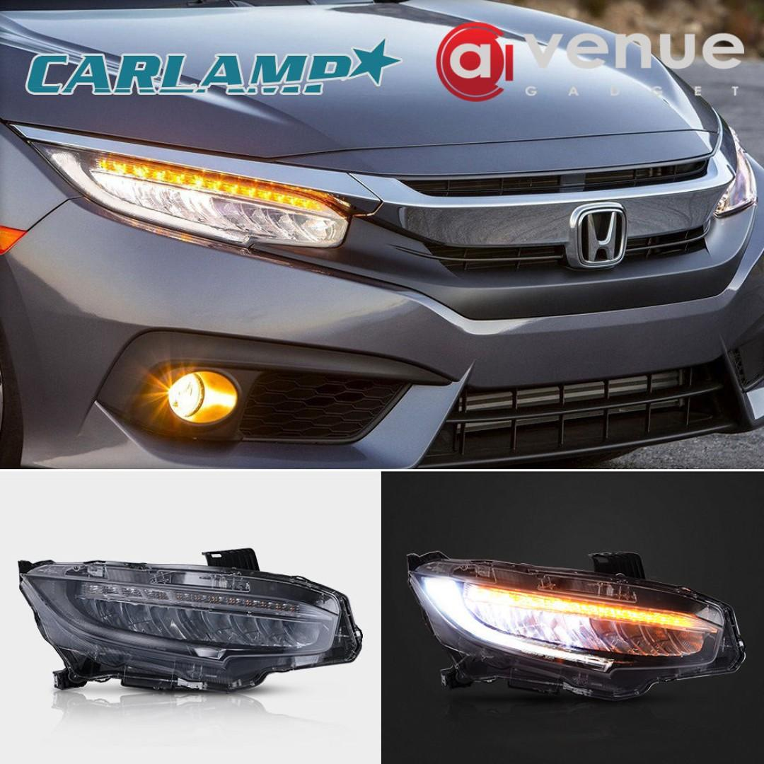 Honda Civic 2016-2018 Led Headlight