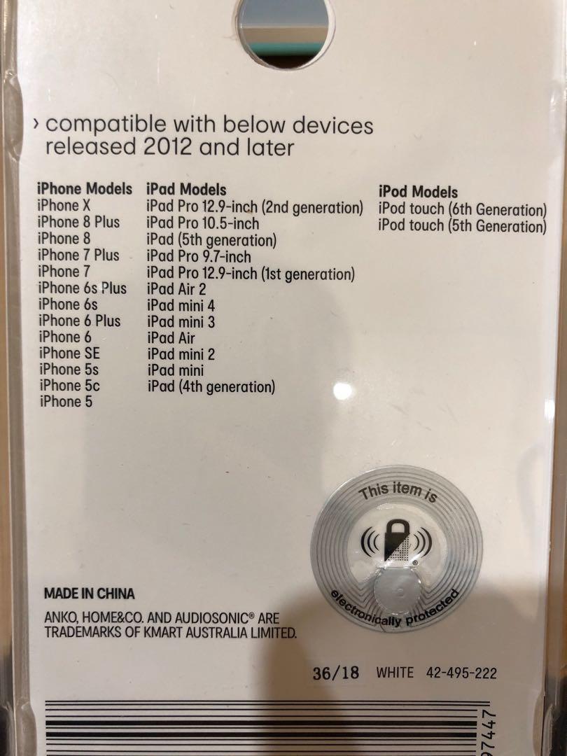 iPhone iPad iPod charger