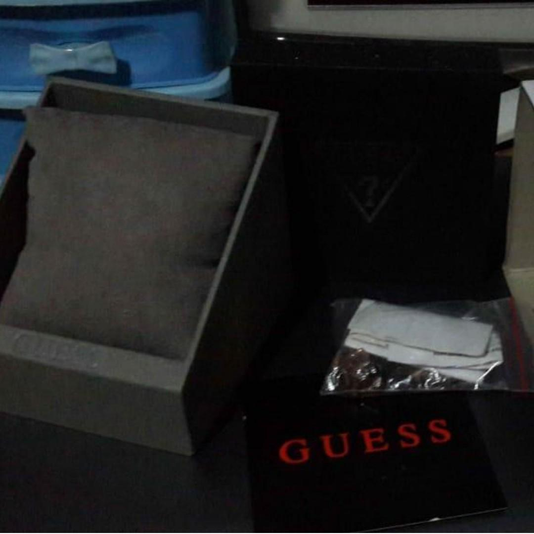 Jam tangan Guess gold W0448L3 authentic ori