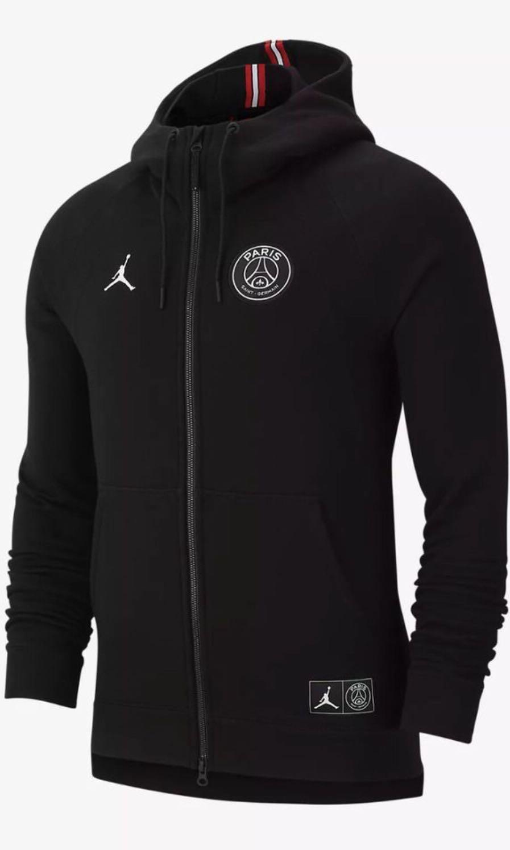 09ec984c2db Jordan Paris Saint Germain Wings Full Zip Hoodie, Men's Fashion ...