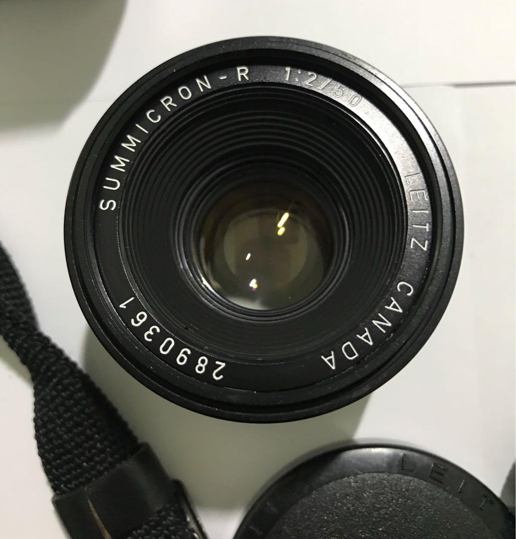 Leica Summicron 50mm F2 lens