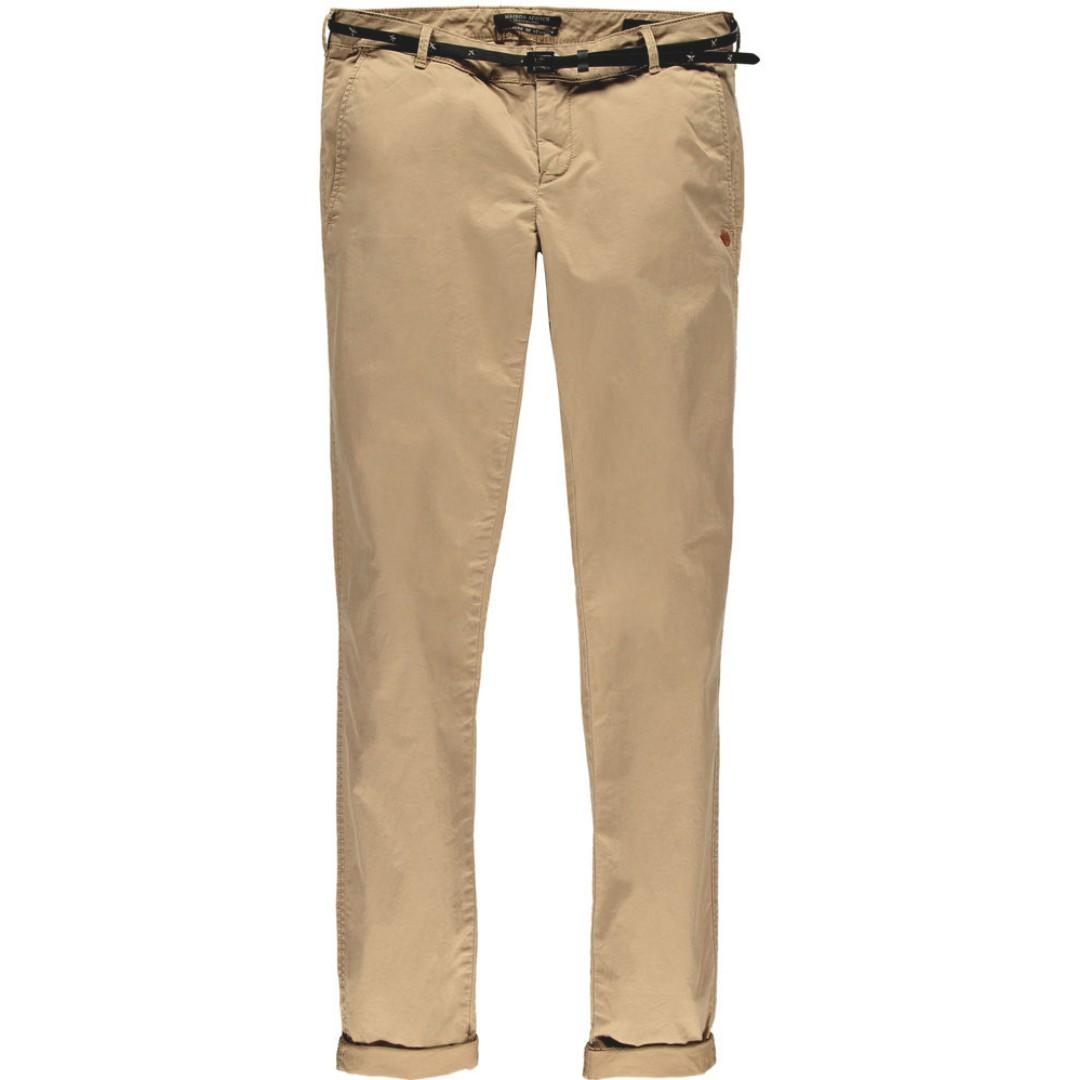 Scotch & Soda medium weight pima cotton stretch pants or chinos