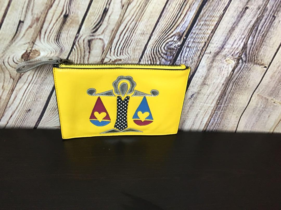 Miss Albright Leather Zodiac Bag Pouch From Anthropologie
